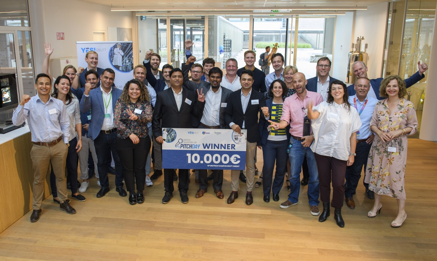 19th of July marked the end of a two-month training period for six promising biotech start-ups.