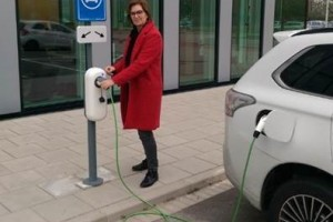 Eight additional recharging stations operational