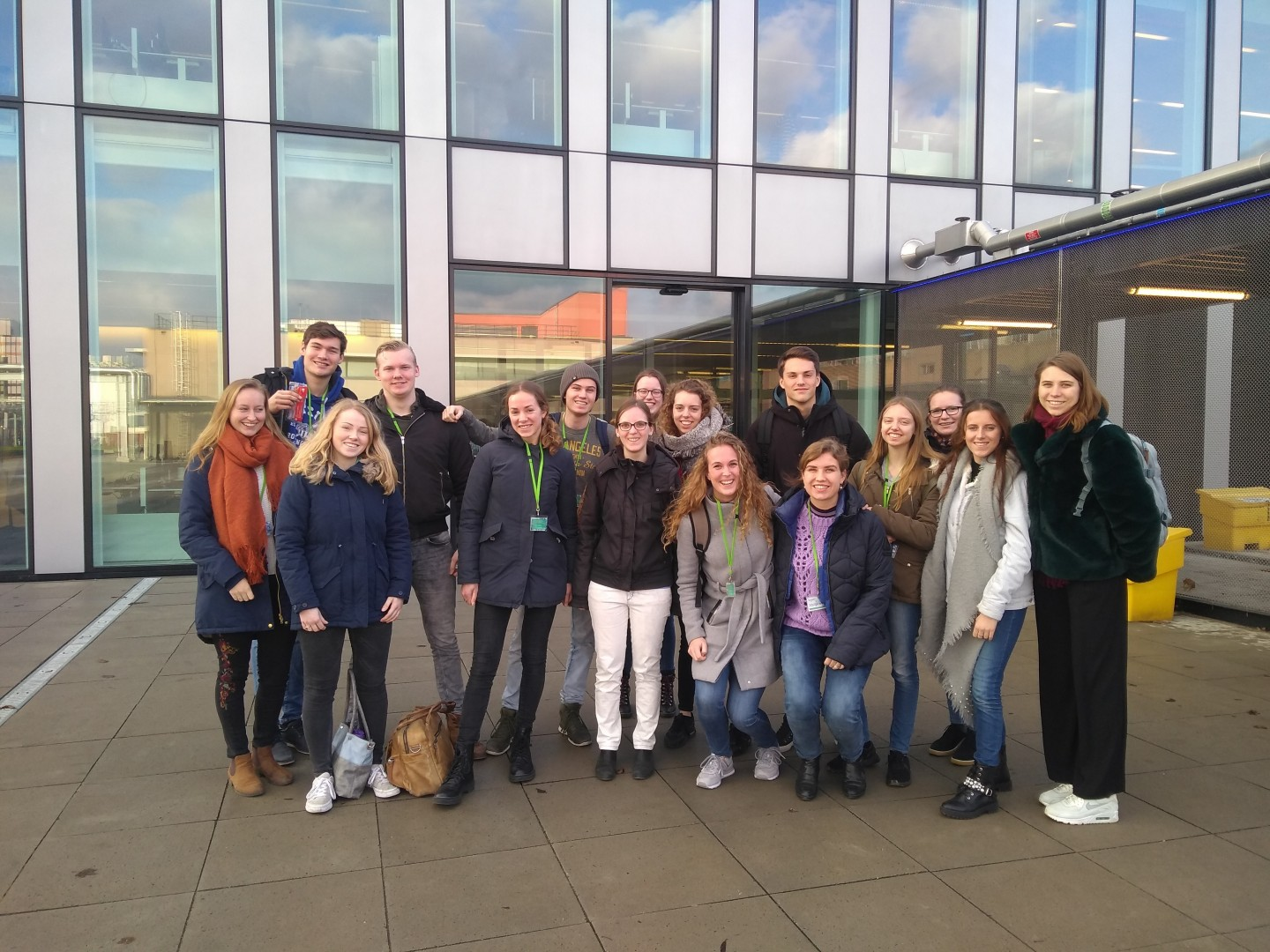 InHolland students visit biotech campus