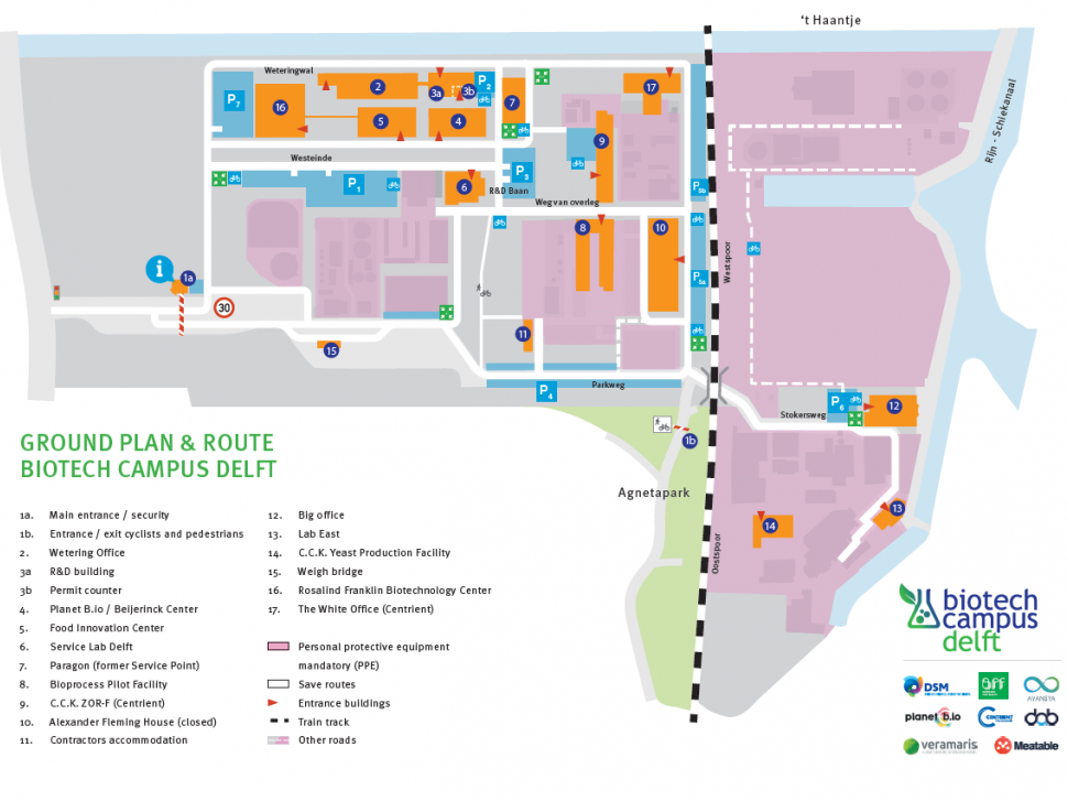 Map BioTech Campus